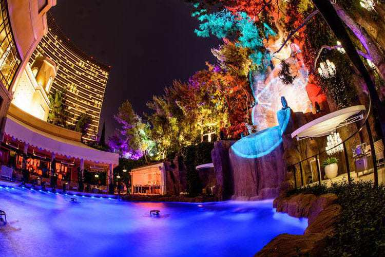 Intrigue Las Vegas Waterfall