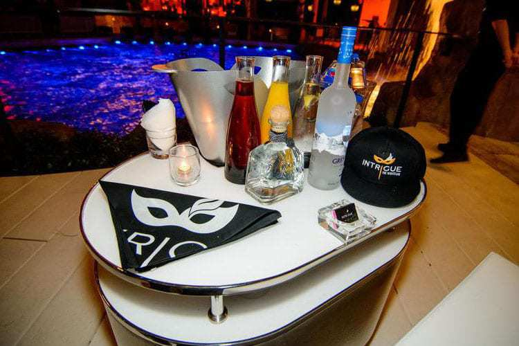 Intrigue VIP Table