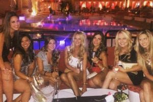 Encore Beach Club Bachelorette Party