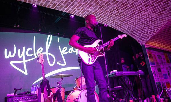 Wyclef Jean in Vegas