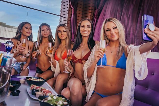 Comp Tables Vegas Pool Parties