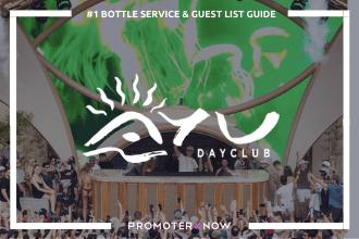 AYU Dayclub Vegas Bottle Service