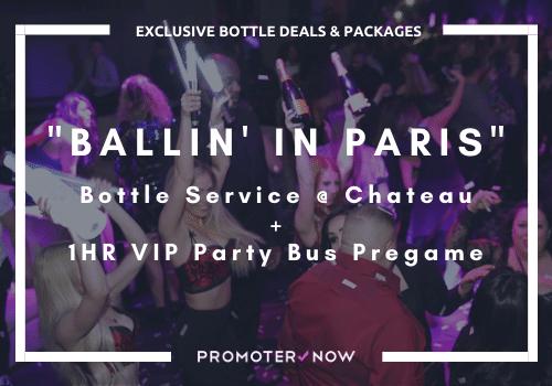 Bottle Package Deals Las Vegas