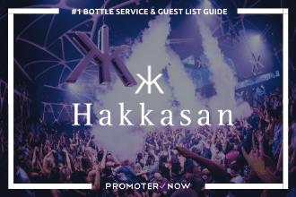 Hakkasan Vegas Bottle Service Guide