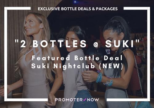 How much Bottle Service Vegas