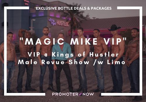 Male Revue Shows Open in Las Vegas