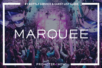 Marquee Vegas Bottle Service Guide