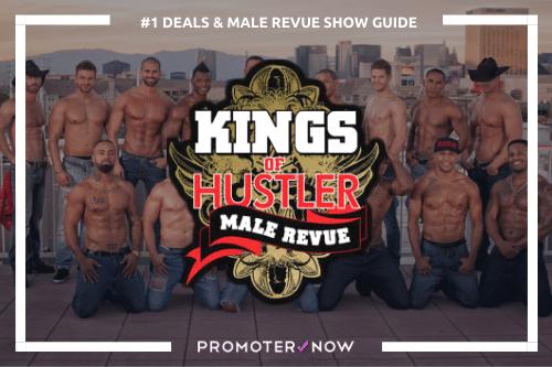Men of Hustler Male Revue Vegas Show