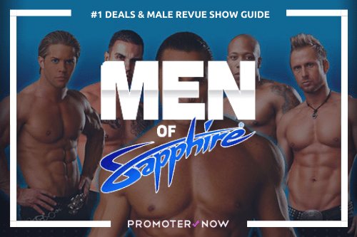 Men of Sapphire Male Revue Vegas Show