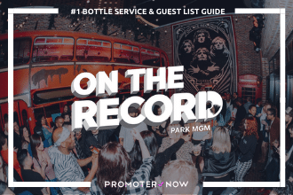 On the Record Vegas Bottle Service Guide