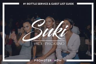 Suki at Koi Vegas Bottle Service Guide