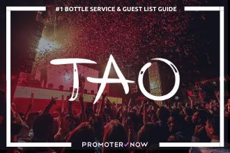 TAO Vegas Bottle Service Guide
