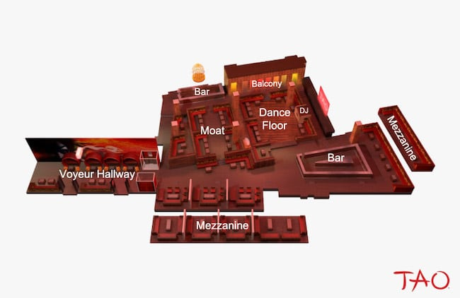 Tao Vegas Floor Plan