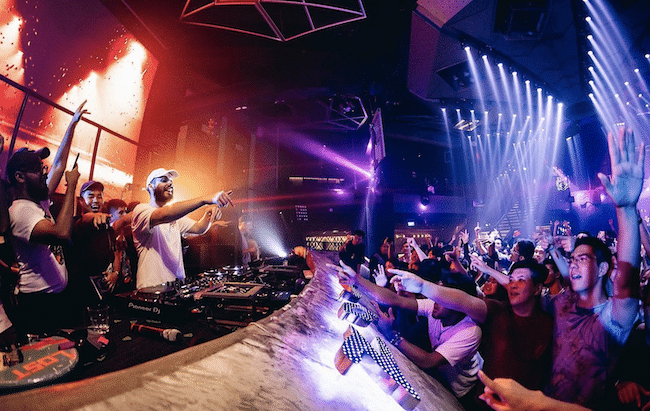 Zouk Nightclub Bottle Service