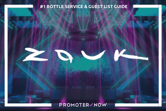 Zouk Vegas Bottle Service